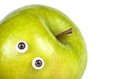 regard s de pomme Photographie stock libre de droits