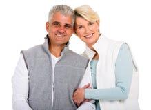 Regard supérieur de couples Photos libres de droits