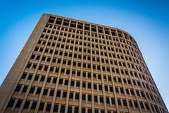 Regardant le bâtiment de Brandywine à Wilmington du centre, De image libre de droits