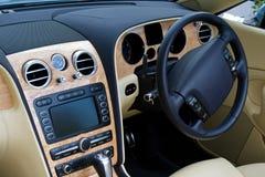 Regarder dedans le tableau de bord convertible de véhicule Photo libre de droits