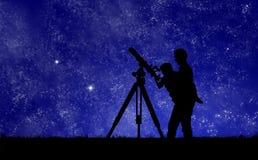 regarder l'étoile fixement photo libre de droits
