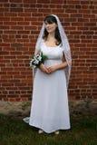 Regarder la mariée fixement Photographie stock