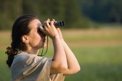 Regarder le ciel images libres de droits