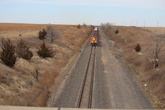Regarder le train Photo libre de droits