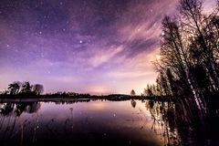 Regarder les étoiles Image stock