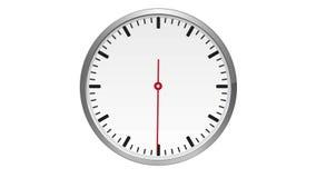 Regarder Occasion déplace exactement une minute, aucun nombre illustration stock