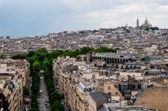 Regardez au sujet de Paris image stock