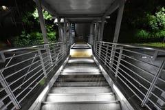 Regardez en bas des escaliers Image libre de droits