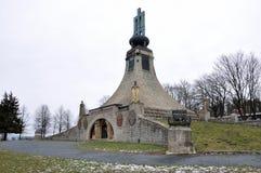 Regardez la paix commémorative, République Tchèque, l'Europe Image stock