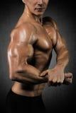 Regardez mon biceps ! image libre de droits