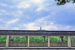 Regardez par les ponts Xishiguli Jinjishan Photo stock