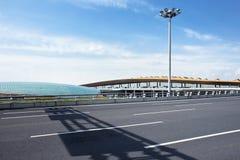 Regardez sur le terminal 3, Pékin Aiport international capital Images stock