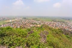 Regardez toute la ville de Da Nang Photos libres de droits