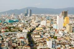 Regardez toute la ville de Da Nang Image stock