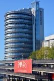 Regardz spotkania Centrum i rowerowi parking udostępnienia Zdjęcie Royalty Free