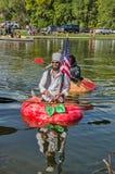 5a regata anual 2015 da abóbora de Ginormous Imagens de Stock Royalty Free