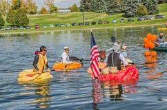 5a regata anual 2015 da abóbora de Ginormous Fotografia de Stock Royalty Free