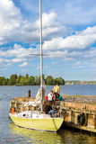 Regata da navigação em Helsínquia, Finlandia Imagens de Stock