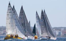 Regata 012 da raça da navigação fotografia de stock