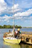 Regata de la navegación en Helsinki, Finlandia Imagenes de archivo