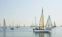 Regata de la navegación, Varna Foto de archivo libre de regalías