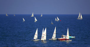Regata de los veleros Foto de archivo