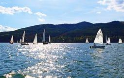 Regata dos barcos de navigação Imagens de Stock Royalty Free