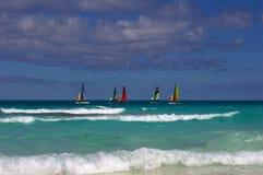 Regata en Cuba. Fotos de archivo