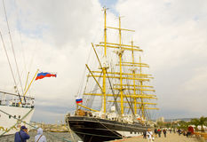 Regata internazionale, Varna Fotografie Stock