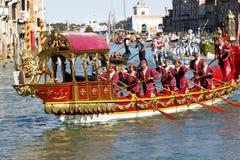 Regata Storica, Венеция Стоковое Фото