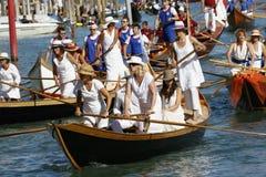 Regata Storica, Venetië Stock Foto
