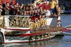 Regata Storica, Venetië Stock Foto's