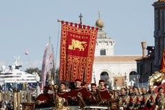 Regata Storica, Venetië Royalty-vrije Stock Foto's