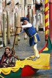 Regata Storica, Venetië Stock Fotografie