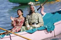 Regata Storica, Venetië Royalty-vrije Stock Fotografie