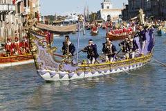 Regata Storica, Venezia Fotografia Stock Libera da Diritti
