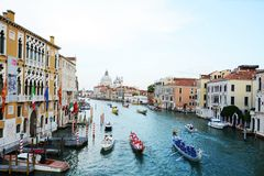Regata Storica, Venice, Italy Royalty Free Stock Images