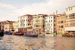 Regata Storica, Venice Royalty Free Stock Images