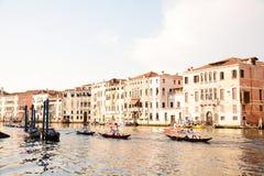 Regatastorica in Venetië Stock Afbeelding