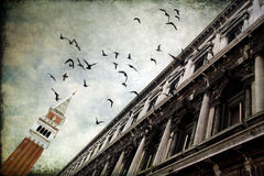 Regate - palacio del duque en Venecia, Italia Imagenes de archivo