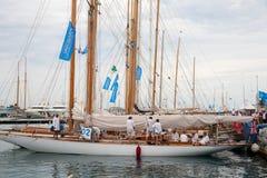 Regates Royale de Cannes Stock Photo