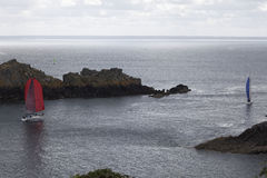 Regatta σε «Λα pointe du Groin » Στοκ Εικόνες