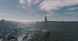 Regatta στη θάλασσα φιλμ μικρού μήκους