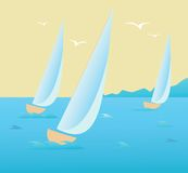 Regatta Stock Photography