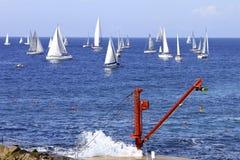 Regatta 2010 della vela di Millevele Fotografia Stock Libera da Diritti