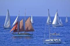 Regatta 2010 della vela di Millevele Immagine Stock Libera da Diritti