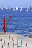 Regatta 2010 della vela di Millevele Immagini Stock