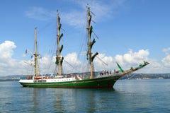 Regatta alto 2010 de la nave de los mares históricos Imagen de archivo libre de regalías