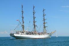 Regatta alto 2010 de la nave de los mares históricos Fotos de archivo libres de regalías