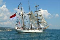 Regatta alto 2010 de la nave de los mares históricos Foto de archivo libre de regalías